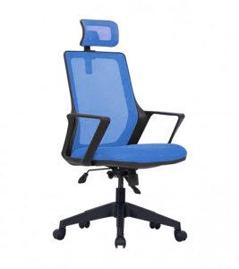 MASTER - Stolica kancelarijska plava LBR 05