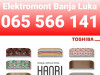 Klima Toshiba INVERTER Haori 065 566 141 Banja Luka