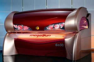 Megasun 6800, Lezeci solarium. Dostupan od 01.07.
