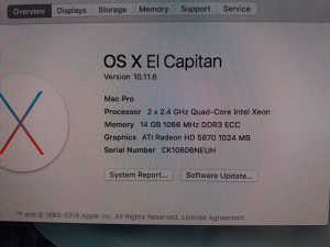 Apple Mac Pro 2 x 2.4GHz (8-core)