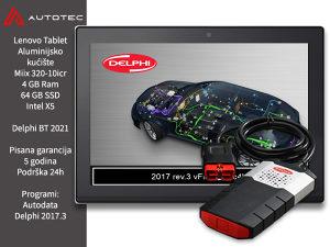 Auto dijagnostika Delphi 2021 Lenovo tablet