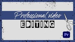 Usluga obrade, korekcije, EDIT-A VIDEO ZAPISA / PRO
