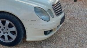 Prednji branik mercedes e220 cdi w211 facelift