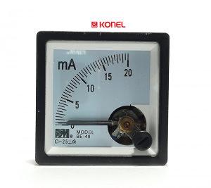 Direktni ampermetar DC, 20mA, 48x48mm