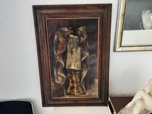 Siniša Žikić akademski slikar, ulje na platnu iz 1983.