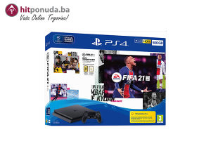 PlayStation 4 500GB F Chassis Black   FIFA 21 PS4 VCH