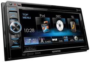 Kenwood USB DVD Radio VW Golf Skoda Passat