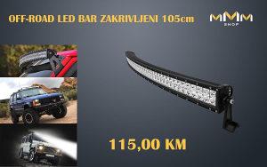 OFF-ROAD LED BAR ZA AUTO ZAKRIVLJENI 105cm