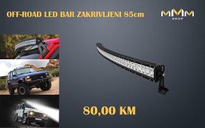 OFF-ROAD LED BAR ZA AUTO ZAKRIVLJENI 85cm