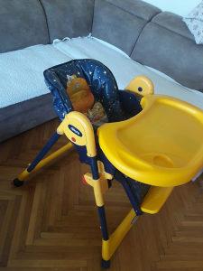 Stolica za hranjenje(chicco)