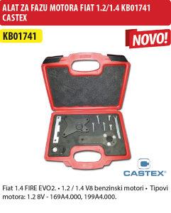 ALAT ZA FAZU MOTORA FIAT/LANCIA 1,2/1,4 KB01741 CASTEX