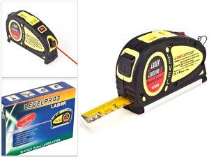 Laser level pro 3 sa metrom 5,5m precizni metar