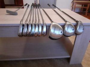 Golf stapovi sa torbom komplet Dunlop DDH NOVO