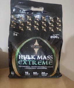 Azgard hulk mass extreme gainer 8.1kg