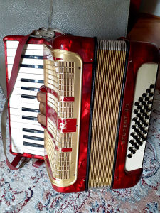 Harmonika Hohner 40 basova