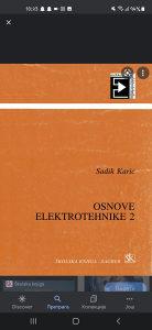 Knjige za 2 razred srednje Elektro skole