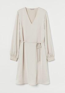 H&M satenska haljina