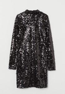 H&M šljokičasta haljina