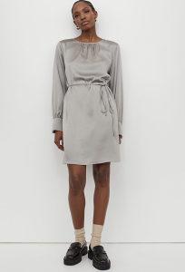 H&M haljina satenska