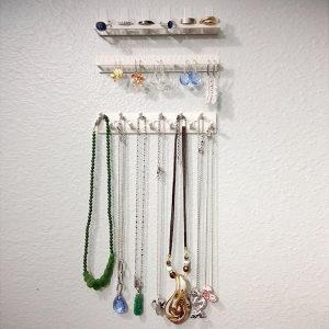 Samoljepljive zidne kukice nosači za odlaganje nakita