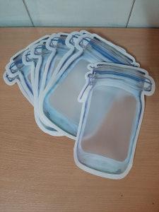 Kuhinjska vrećica za čuvanje hrane patentni zatvarač