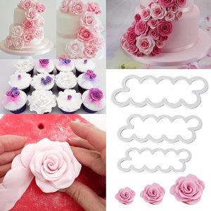 Plastični kalupi za ukrašavanje kolača kolačića set