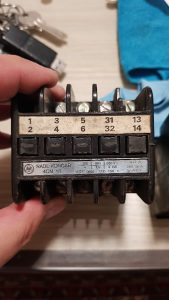 Kontakter sklopka Rade Koncar 4CN16 novo