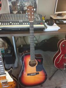 Fender cd 60ce sb v2