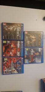 PES,NBA, Fallout4, Deus Ex