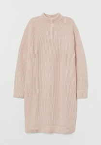 H&M haljina rebrasta 2XL XXL