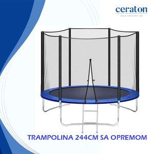 TRAMPOLINA 244CM - AKCIJA - 063 850 837