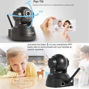 WIFI IP Camera rotirajuća WI FI nadzorna djecija kamera