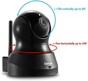 WIFI IP Camera rotirajuća rotaciona WI FI baby kamera
