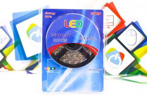 LED traka 5m bijela 6000K 5050 12V 5A