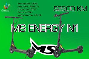 MS Energy N1 Trotinet Skuter Romobil Elektricni