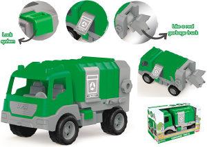 Kamion komunalni smećar, razne igračke