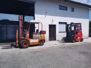 Prodajemo FENDT viljuškar DFG2000 -5000 sati
