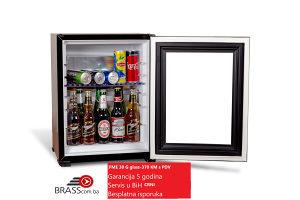 Mini bar-mini rashladna vitrina-FME 30Glass-crni