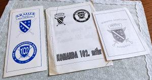 102 brigada ARBiH Armija ratne čestitke