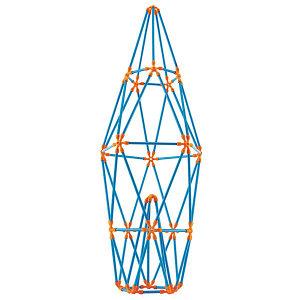 Hape Toys fleksibilni štapići - izgradnja rakete