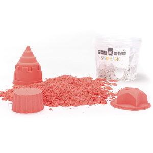 Magični pjesak - crvene boje