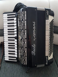 Harmonika Paolo Soprani Kabinska 3+2