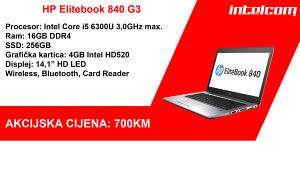 EXTRA CIJENA! HP 840 G3, 16GB RAM, 240GB SSD