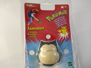 Pokemon Snorlax Electronic Jammer Ball Tiger