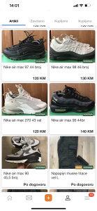 Nike air max air force patike