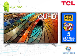 TV TCL 55P715 SMART 55'' 4K QUHD Android LED