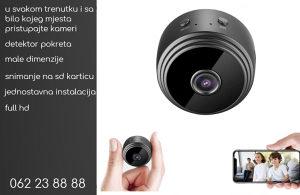 Špijunska wifi kamera + gratis power bank