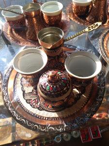 Set za kahvu kafu BAKAR ručni rad