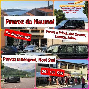 PREVOZ PUTNIKA - iz Sarajeva do željenih destinacija
