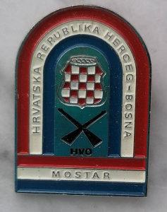 Grudne oznake Mostar, Herceg Bosna Hvo, kolekconari